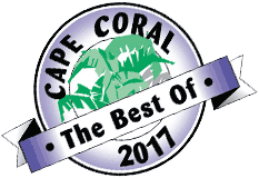 Winner Best of Cape Coral Graphic